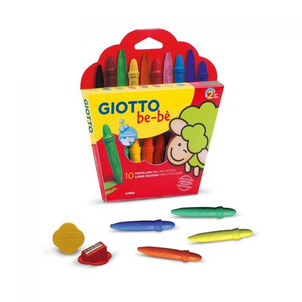 Ceras Giotto Bebè 10 colores