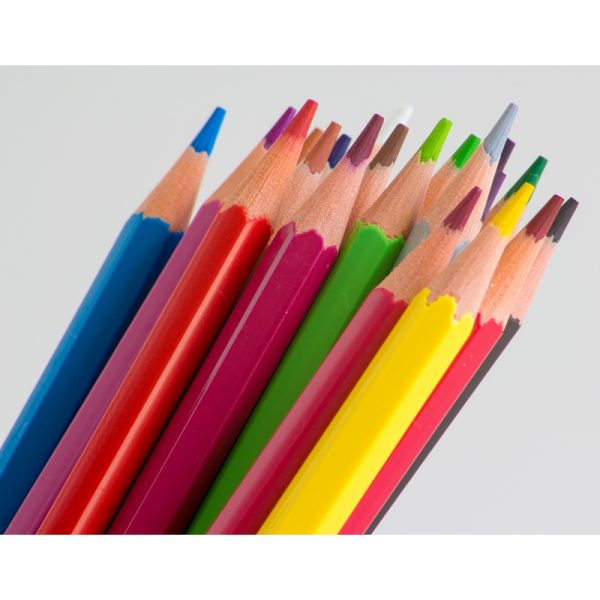 Estuche 12 Lápices de Colores Alpino