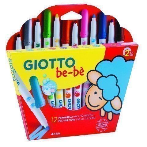 Rotuladores Giotto Bebè 12 colores