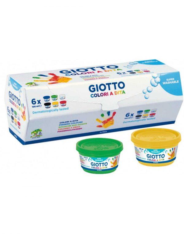 Pintura manos Giotto